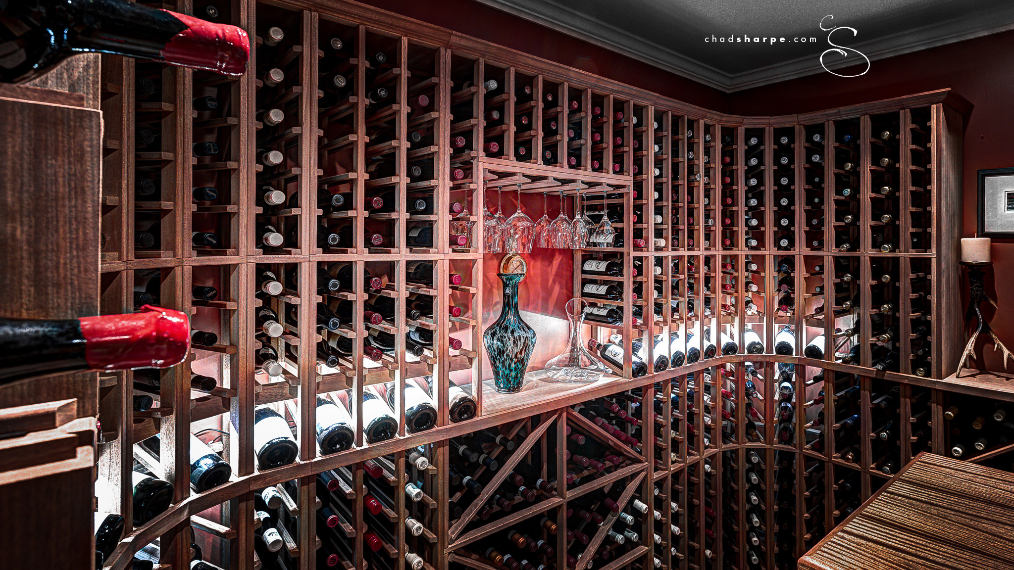 Interior design shoot for Spaces NL. & RED WINE CELLAR | chad sharpe